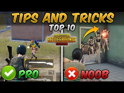 Top 10 Close Range Tips and Tricks (PUBG MOBILE) Noob to Pro Guide/Tutorial