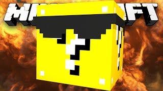 Minecraft Modded Minigame: LUCKY BLOCK BATTLE DOME! - w/Preston&Friends