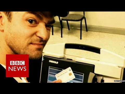 5 things you can t do in US ballot booth - BBC News