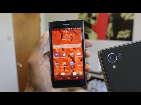 how to sony xperia z1