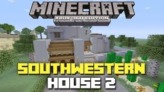 Minecraft Xbox 360: Adobe House 2! (House Tours of Danville: Episode 34)