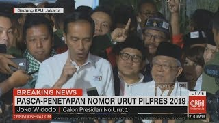 Video Usai Penetapan Nomor Urut, Jokowi: Kita Ingin Indonesia Ini Ber..Satu MP3, 3GP, MP4, WEBM, AVI, FLV September 2018