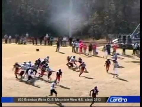 Brandon Watts 2010 High School Highlights video.