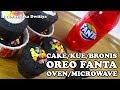 Cake/Kue/Cupcake/Brownies Oreo Fanta Oven/Microwave. Cake Viral kekinian Praktis dan anti gagal
