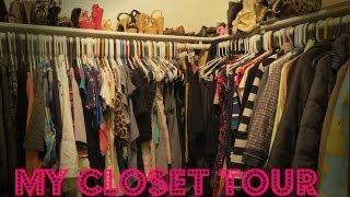 Just in case it was not obvious, I freaking love clothes. SO I thought that I would share my closet with you. I hope you all enjoy this little bit of my life :)My camera is the Canon sx50 hsI got an Instagram!!! heatherelizabeth121Follow Me on Twitter!! https://twitter.com/helizabeth121Come Follow My Pinterest Addiction: http://pinterest.com/heatherbees91/Any inquiries relating to my YouTube Channel, such as Product Reviews contact me at:heatherelizabeth1212@gmail.com