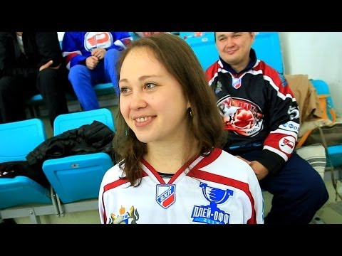 Фантастическая атмосфера на хоккее в Караганде