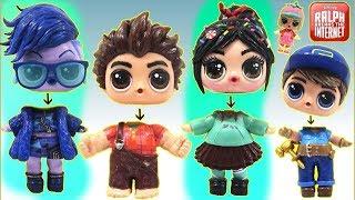 Video Learn Colors with RALPH BREAKS THE INTERNET Custom LOL Surprise Dolls Wrong HeadsToy Surprise MP3, 3GP, MP4, WEBM, AVI, FLV Januari 2019