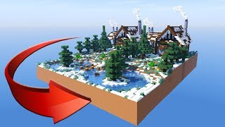 MINECRAFT: How to build a big wooden house #5 ( 2017 )