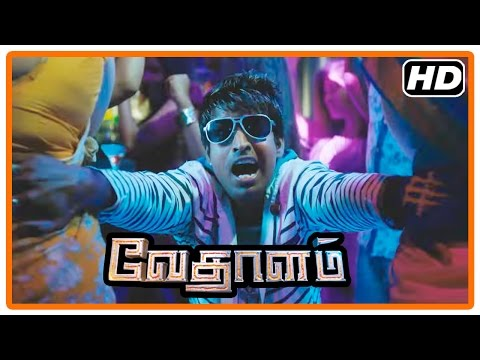 Vedalam Tamil Movie | Scenes | Soori's true identity revealed to Kovai Sarala and Sharmila | Ajith
