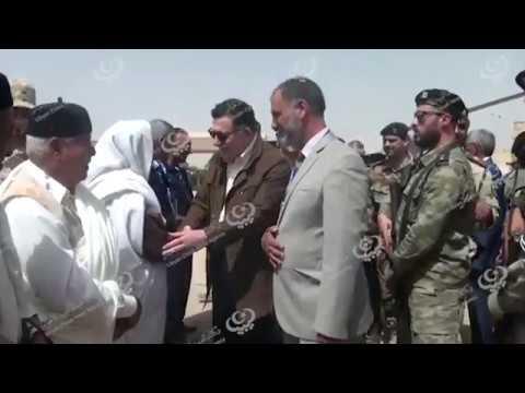 رئيس المجلس الرئاسي يزور بلديات الجميل ورقدالين وزلطن