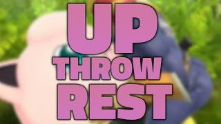 UP THROW REST (Be Our Guest from Beauty and the Beast) | Smash Bros. Parody