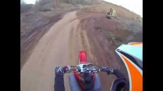 6. First Ride 2015 Honda crf150r GoPro3-Black