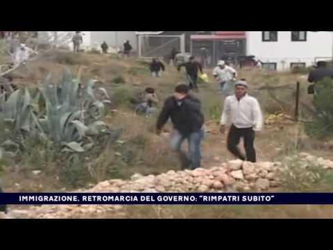 IMMIGRAZIONE, RETROMARCIA DEL GOVERNO ''RIMPATRI SUBITO''