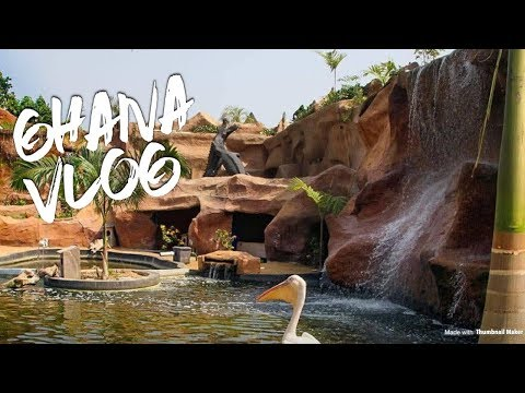 Ghana Vlog || Travel Vlog ,aqua Safari Adventure