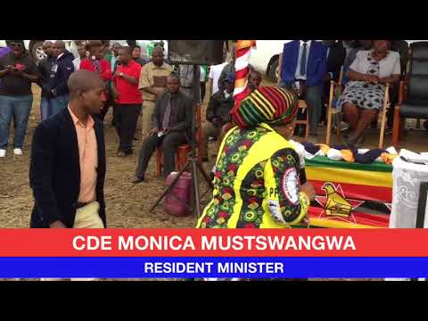 Monica Mutsvangwa Urges Chimanimani Voters To Vote ED And Sacco