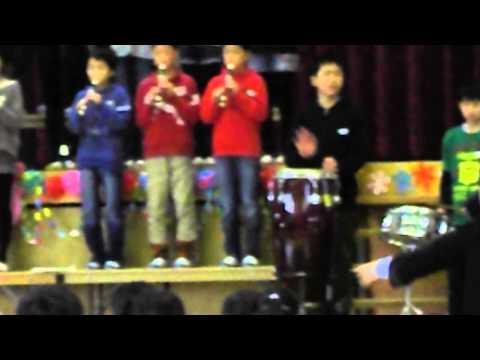 3月2日(日)京都府綾部市立吉美小学校の「6年生を送る会」4−4