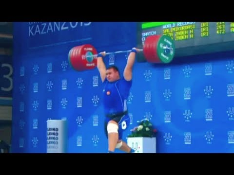 weightlifting - Olympic Weightlifting, Men +105 kg.