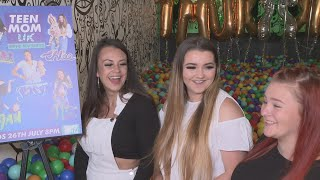 The stars of MTV's 'Teen Mom UK' reveal who they want their babies to hang out with and talk about being role models. Report by Charlotte Brehaut.