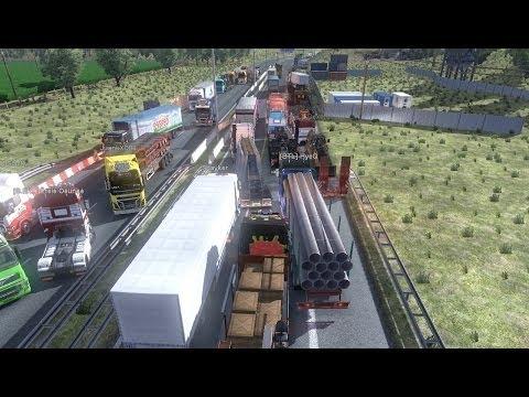 Euro truck simulator multiplayer - road rage, bad drivers