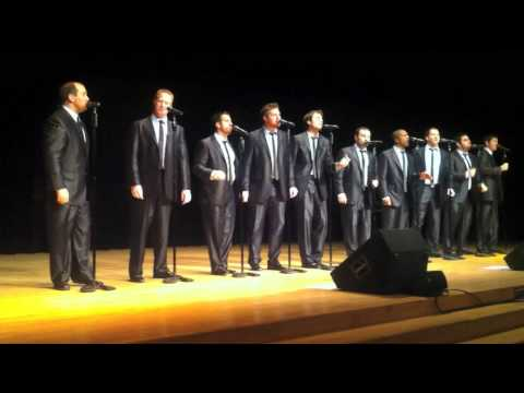 STRAIGHT NO CHASER 'Tainted Love' GLEN GOULD STUDIO - Toronto, ON, Canada  Feb 08-11
