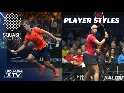 Squash Coaching: Playing Against Different Styles