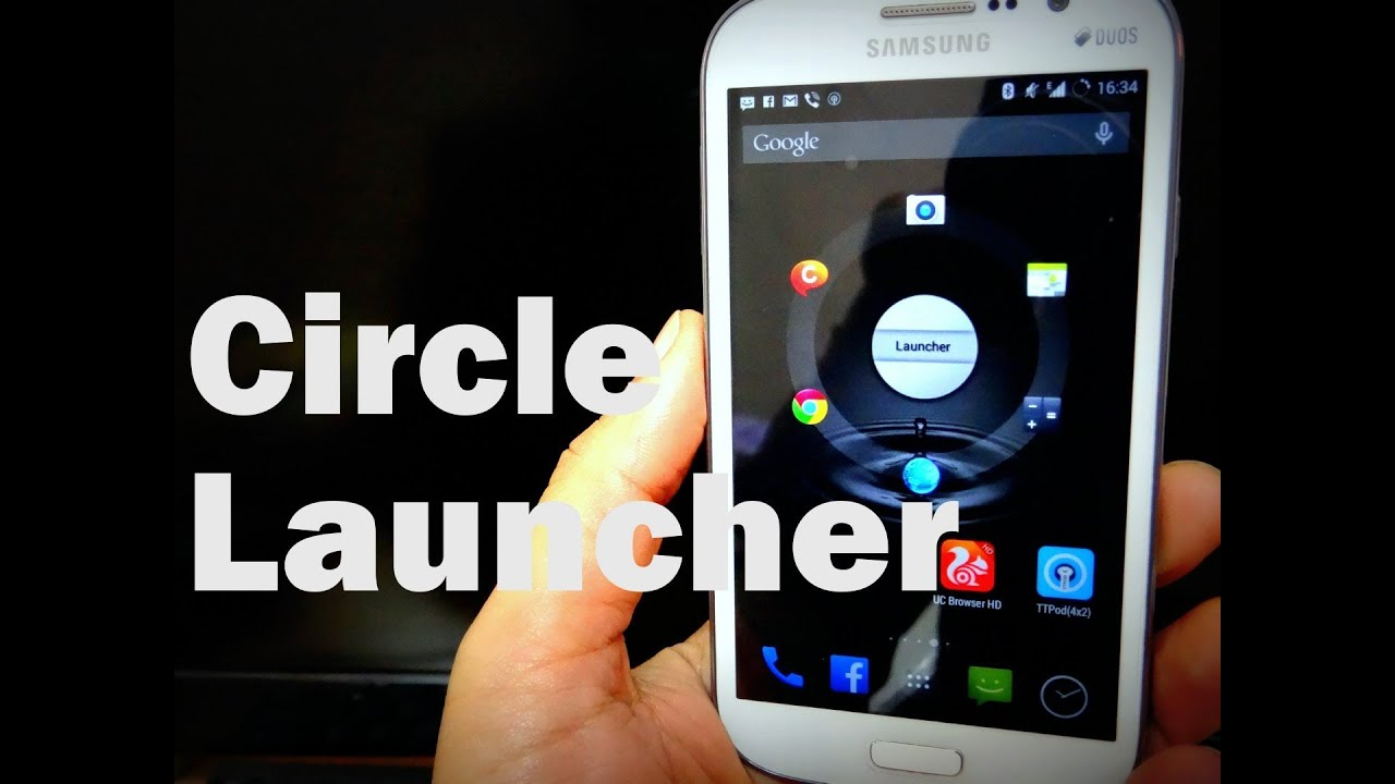 Descargar Circle Launcher On Samsung Galaxy Grand para Celular  #Android