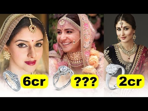 9 Most Expensive Engagement Ring of Bollywood Actresses | Anushka Sharma, Aishwarya Rai, Kareena Kap