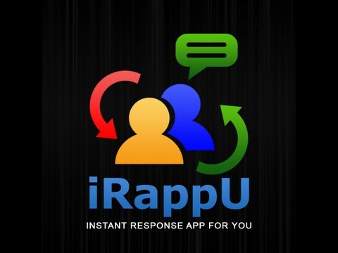 Video of iRappU (Instant Response)