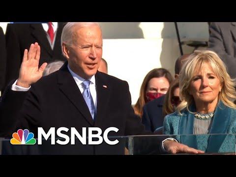 Joe Biden Sworn In As The 46th President Of The United States | MSNBC