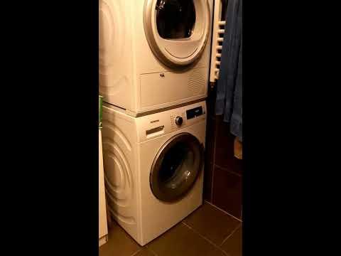 Siemens WT45H200BY IQ300 ISENSORIC - WZ11410 washer dryer stacking kit - WM14Q441 IQ500 varioPerfect