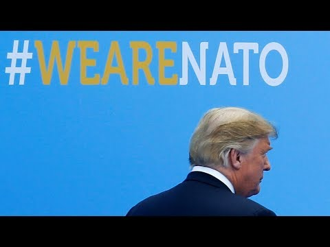 Trump rails against NATO allies on defence spending