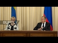 LIVE: Sergei Lavrov holds press conference with Swedish counterpart video download