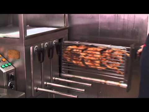 grelhador - Grelhador para frango de churrasco - Rápido, Económico e Higienico Frango de churrasco - Um Negócio de Sucesso!!!! Tecnologia Patenteada e Amiga do Ambiente.