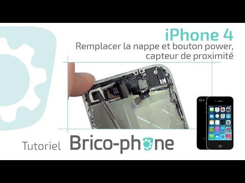 comment reparer le bouton power de l'iphone 4