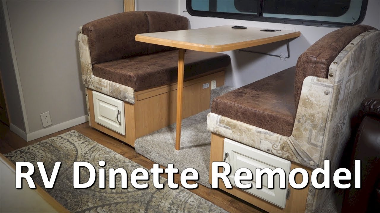 Rv Dinette Renovation This New Old Rv