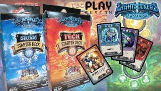 Lightseekers TCG Starter Pack Unboxing