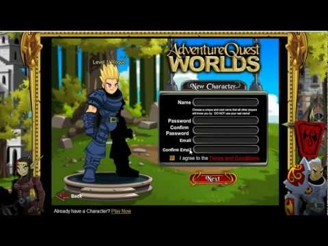 Adventure Quest Worlds - Where it All Begins