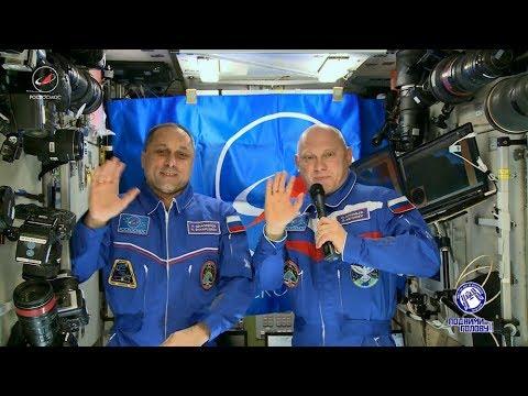 С Днем космонавтики! © Телестудия Роскосмоса