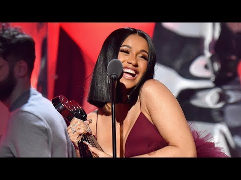 Cardi B Wins Best New Artist & Announces New Album SOON at iHeartRadio Music Awards 2018