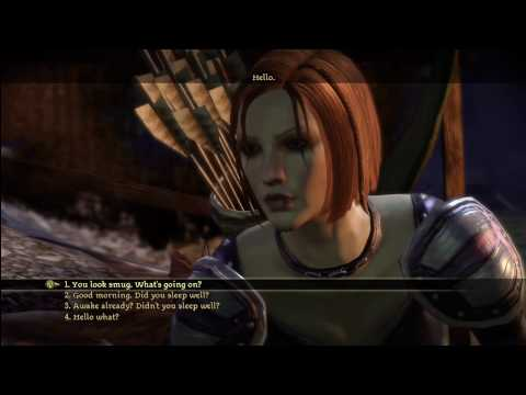 review dragon age dialogue