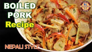 "BOILED PORK Recipe (SADHEKO) - Nepali Style  Easy & Quick Recipe  - Non Veg. SnackWelcome to ""Learn to Cook with me CHANNEL""Please Like , Share & SUBSCRIBE our Channel for New Recipes Videos:Don´t forget... If you like this recipe... Leave a comment or Thumbs up ;) Thank you.Video link of this Recipe : https://youtu.be/hVAXGhHe5x0Thanks for Watching. Have Fun__________________________________________________________________Subscribe & Stay Tuned: https://www.youtube.com/channel/UCzoP8ZzP6QbDpVVweZ_I3HA?sub_confirmation=1__________________________________________________________________Visit Our Channel ""Learn to cook with me"":For Facebook Updates: https://www.facebook.com/Learn-To-Cook-With-Me-181829918948258/"