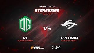 OG vs Team Secret, Game 2, SL i-League StarSeries Season 3, LAN-Final