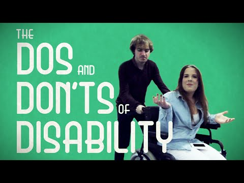 Michelle Middleton has cerebral palsy and has created this film with Fixers to encourage others not to treat people with disabilities differently.