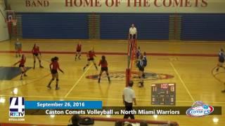 Caston Volleyball vs North Miami Warriors