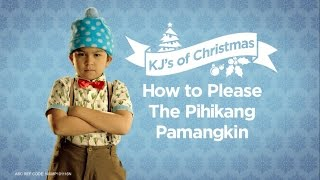 Don't let his cuteness fool you – this Christmas KJ is hard to please! Find out the secret to tickle your picky pamangkin's taste buds ...