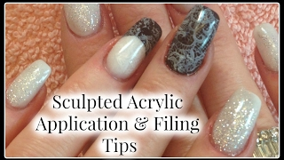 This video is about Beginners DIY Acrylic Nails Troubleshooting Liquid to Powder Black and White Sculpted Colored Acrylic. I will show you how to remove the ...