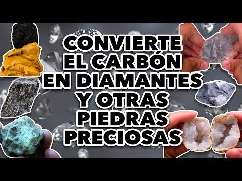 CONVIERTE EL CARBÓN EN DIAMANTES Y OTRAS PIEDRAS PRECIOSAS. MAIRE VS EL INTERNET