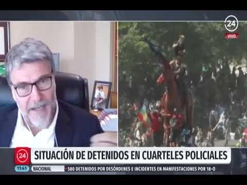 Andrés Mahnke confirma presencia de defensores en comisarías en primer aniversario del 18-O