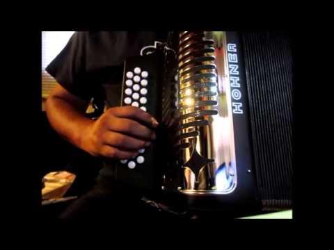 review demostracion de nuevo hohner panther II en FA FBE acordeon principiantes