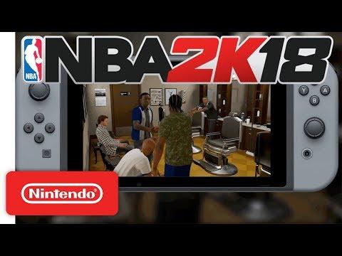 NBA 2K18 Handshakes Trailer 🏀 - Nintendo Switch